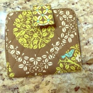 👒Vera Bradley Bi-Fold Wallet Used-Like NEW👜